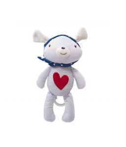 Kikka Boo Музикална играчка за легло Red Heart LOVE ROME Снимка 1