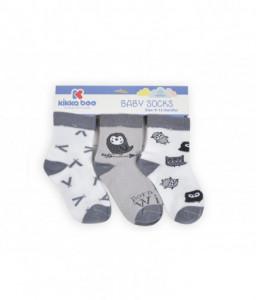 Kikka Boo Бебешки памучни чорапи 12-24 месеца унисекс Снимка 1