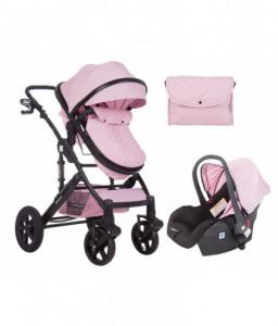 Kikka Boo Комбинирана количка 3 в 1 с трансф.седалка Darling Pink 2020 Снимка 1