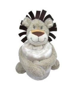 Kikka Boo Сет играчка с одеяло Leo Снимка 1